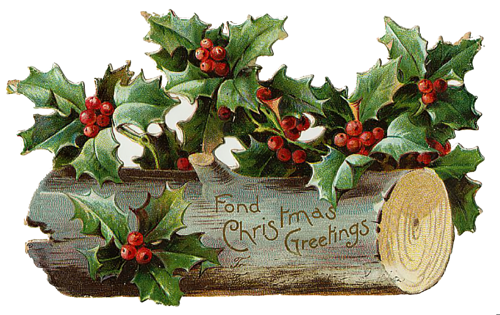 Vintage Victorian Christmas Die Cut Clip Art Day 15 The Graffical