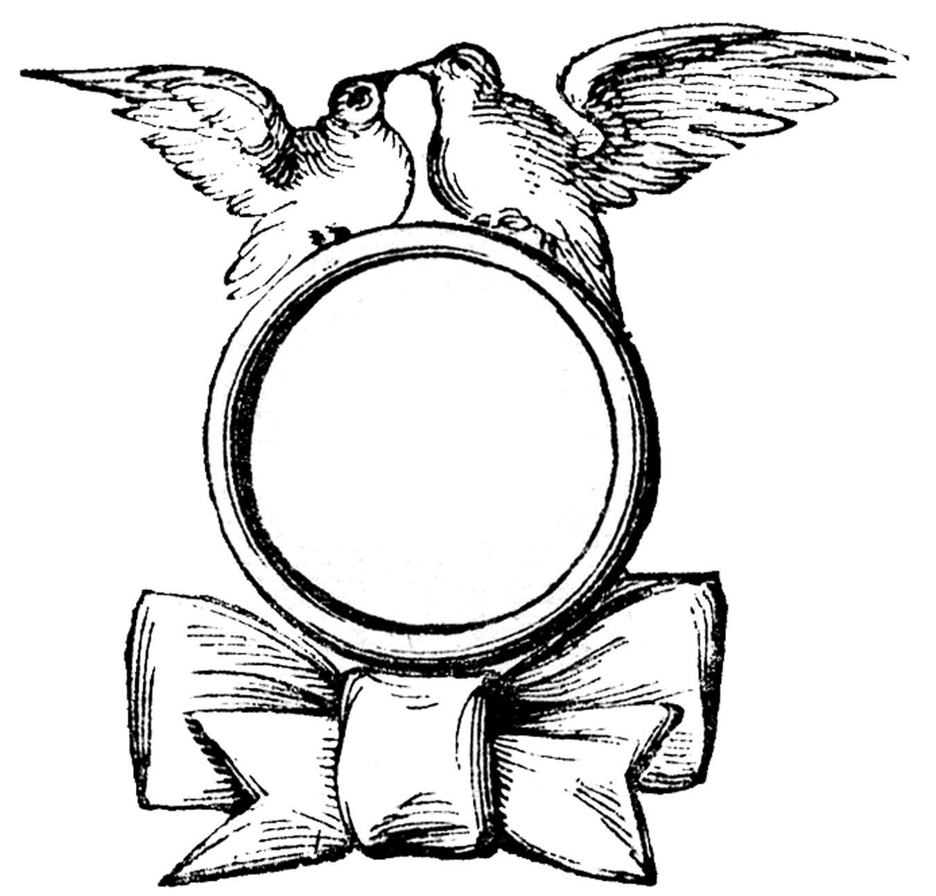 Vintage Wedding Clip Art ..-Vintage Wedding Clip Art ..-7