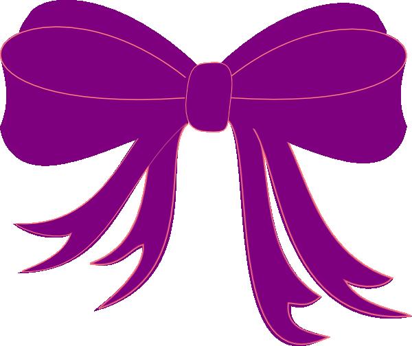 Purple Ribbon Clip Art at Clker clipartlook.com - vector clip art online, royalty free  u0026 public domain