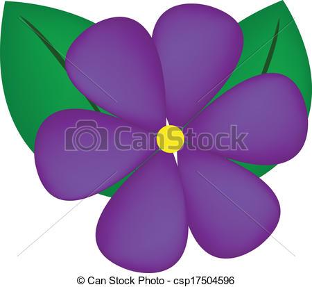 Violet Flower Vector-Violet Flower Vector-6