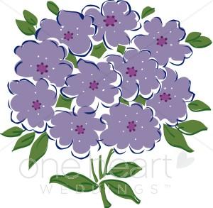 Violets Clipart