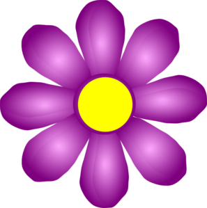 Violet Flower Clip Art-Violet Flower Clip Art-17