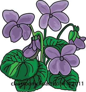 Violet Flower Clip Art-Violet Flower Clip Art-4