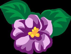 Violet Flower Clipart-Violet Flower Clipart-0