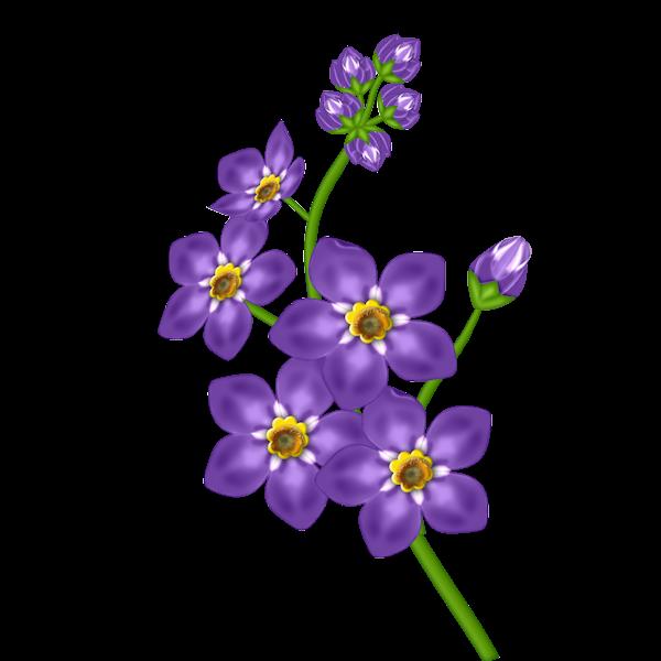 Violet Purple Flower Clip Art-Violet Purple Flower Clip Art-17