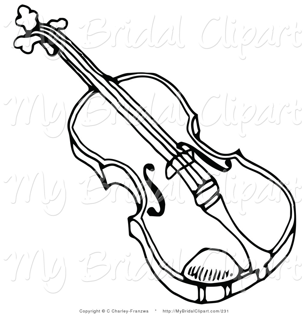 Violin Black And White Clipart ... 62792adbf9e4b5355ceeb48507ad9b .