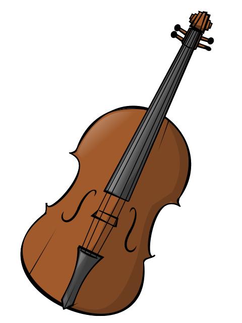 Violin Clip Art-Violin Clip Art-12
