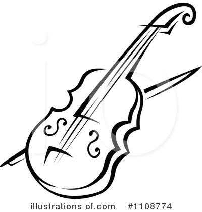 Violin Clipart 1108774 Illustration By S-Violin Clipart 1108774 Illustration By Seamartini Graphics-14
