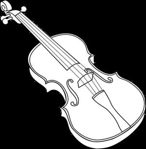 Violin Clipart Black And White ... Large-Violin Clipart Black And White ... Large PNG SVG Edit Clipart-17