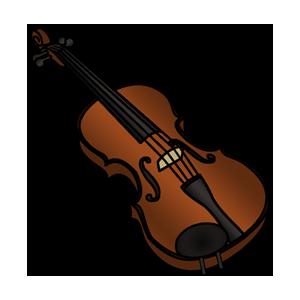 Free Violin Clip Art Image PNG