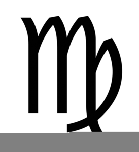 Clipart Virgo Sign Image