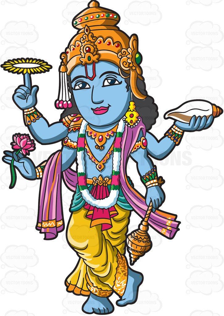 The Hindu God Vishnu-The Hindu God Vishnu-11