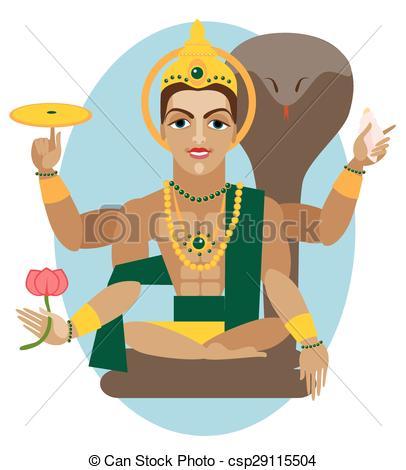 Vector Lord Vishnu-Vector Lord Vishnu-12