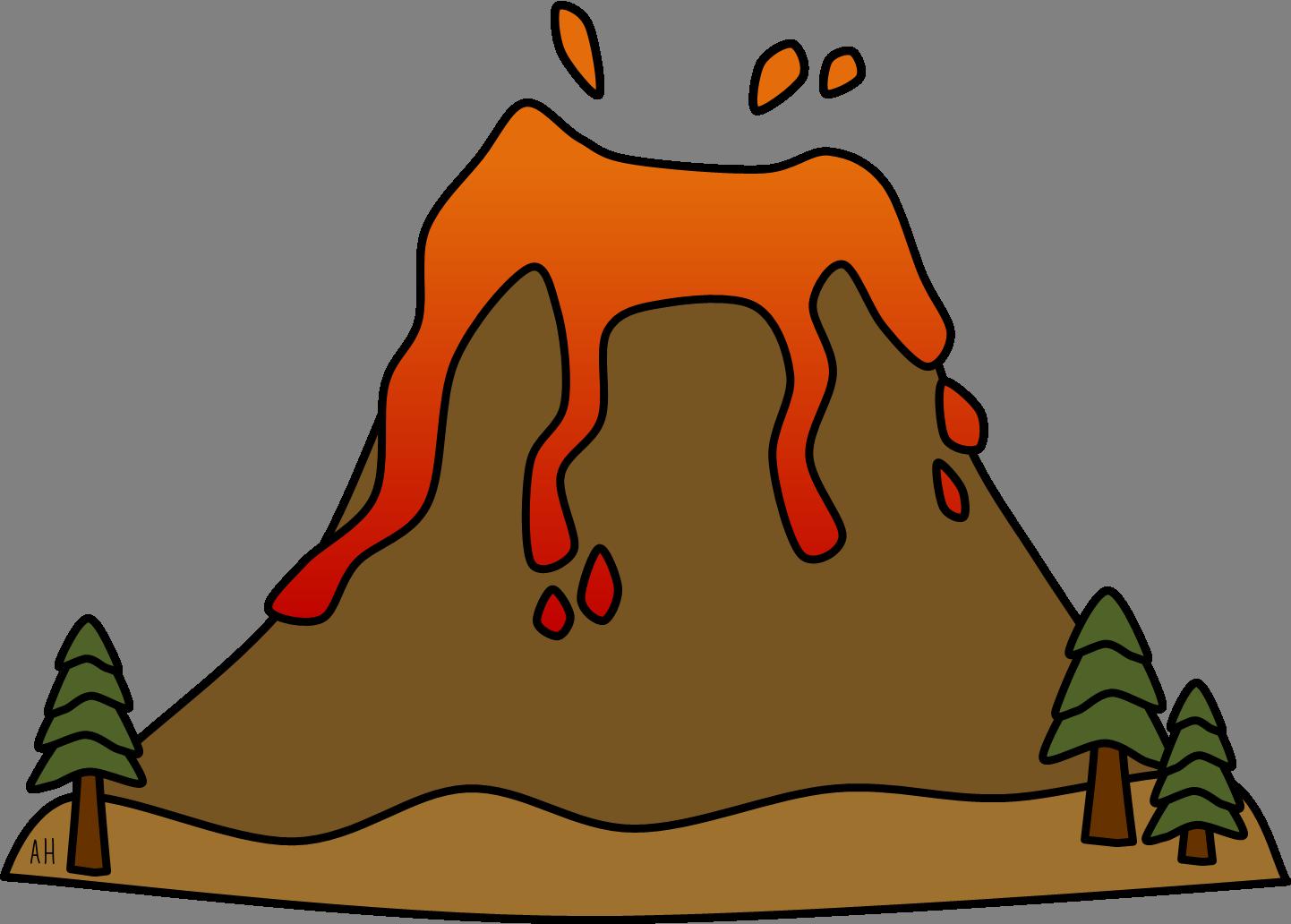 Volcano Clipart-volcano clipart-15