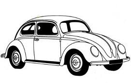 Volkswagen Bug Clipart - Volkswagen Clipart