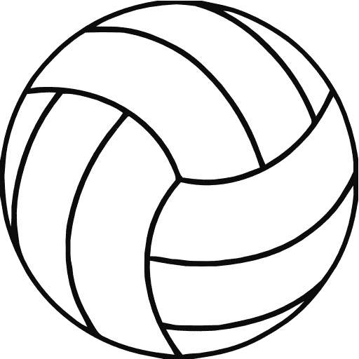 Volleyball clip art shapes cwemi images gallery