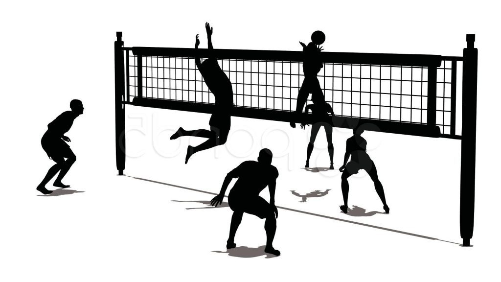 photograph regarding Printable Volleyball called 18+ Volleyball Clipart ClipartLook
