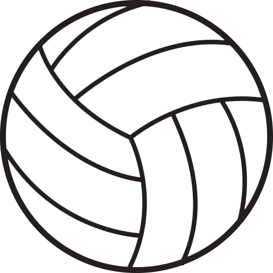 Volleyball Clipart Transparent-Volleyball Clipart Transparent-6