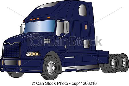Volvo Truck Vector Image-Volvo Truck Vector Image-10