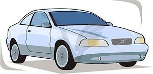 Volvo - vector clipart-Volvo - vector clipart-1
