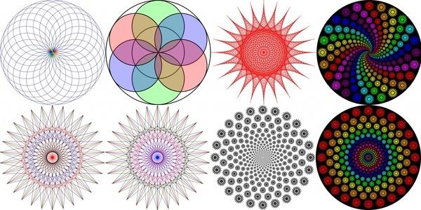 vortex circle string art - Free Downloadable Clipart