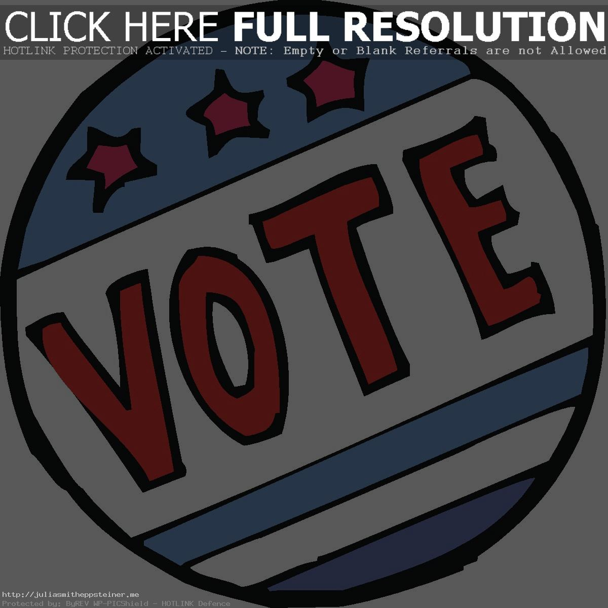 . ClipartLook.com Live 2016 Election Page 5486 Bright Free Vote ClipartLook.com