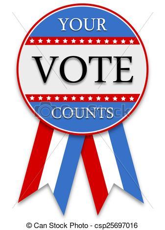 Your Vote Counts - csp25697016