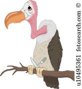 Vulture. ValueClips Clip Art