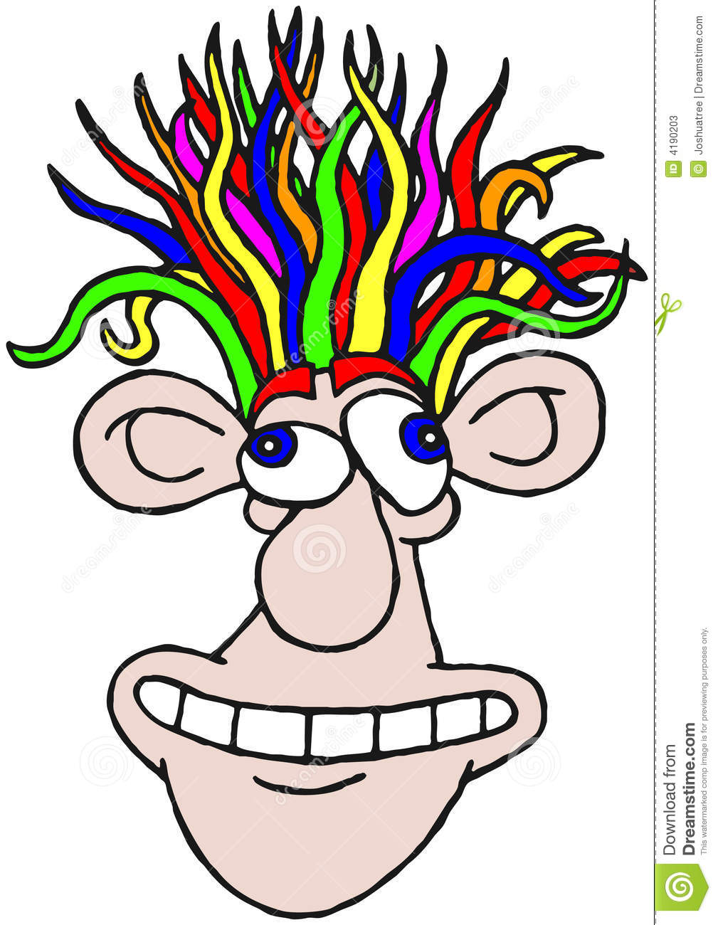 Wacky Hair Clipart Images Pictures Becuo