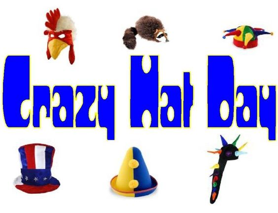 Wacky Hat Cartoons | Crazy Hat Day Clip Art Crazy hat day