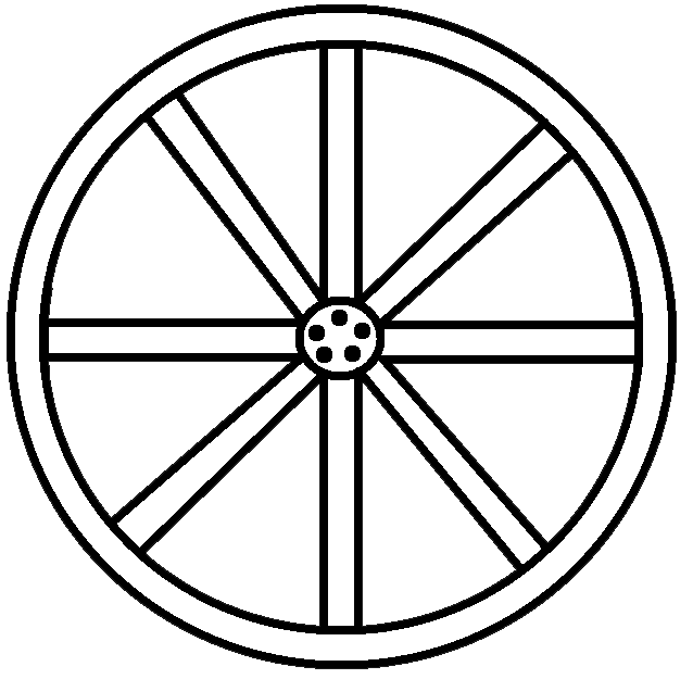 Wagon Wheel Clip Art-Wagon Wheel Clip Art-18