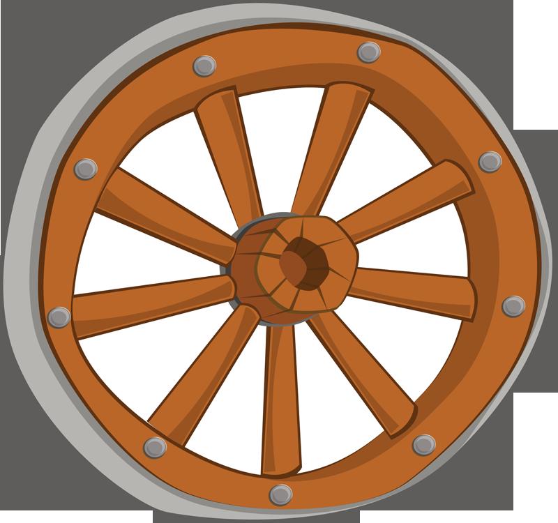 Wagon Wheel Clipart Cliparts Co