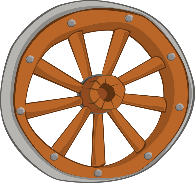 Wagon Wheel Clipart Cliparts  - Wheel Clipart