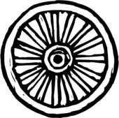 Wagon Wheel Clipart Vector Graphics 668 Wagon Wheel Eps Clip Art