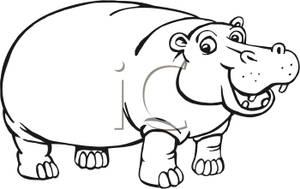 waistline clipart u0026middot; hippo clipart