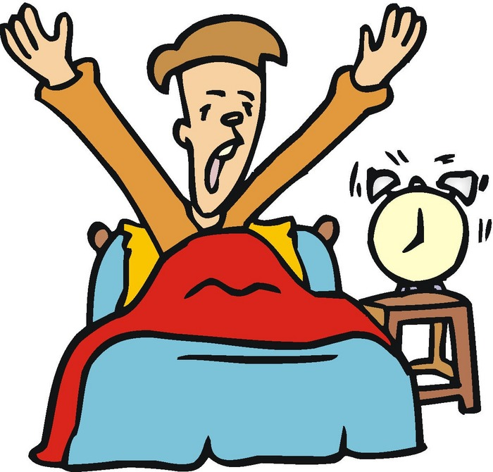 wake-up clipart