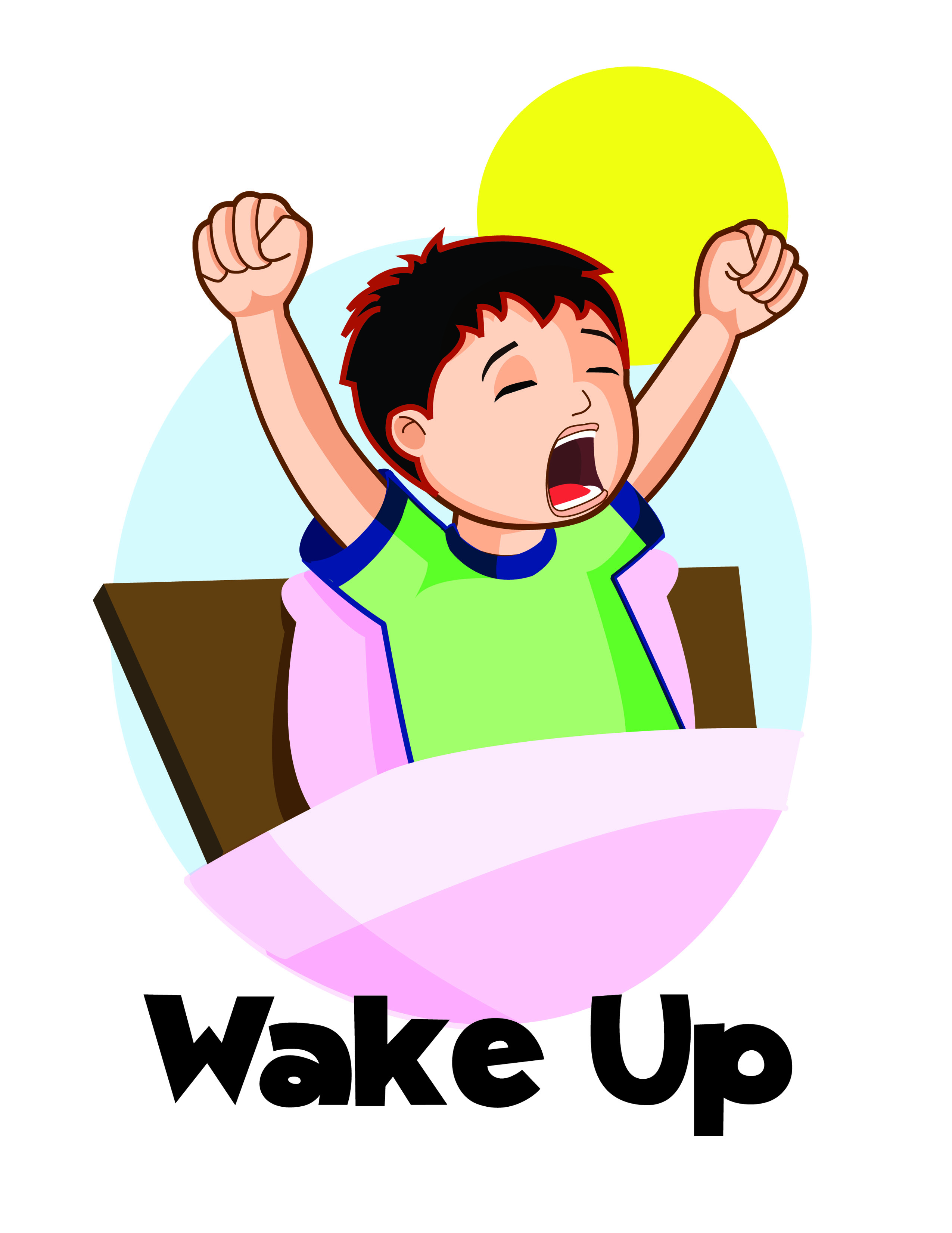 Wake Up Clipart Cliparts Co