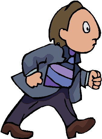 Walking clip art