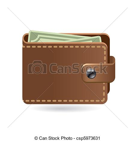 wallet - leather wallet icon wallet Clipartby ...