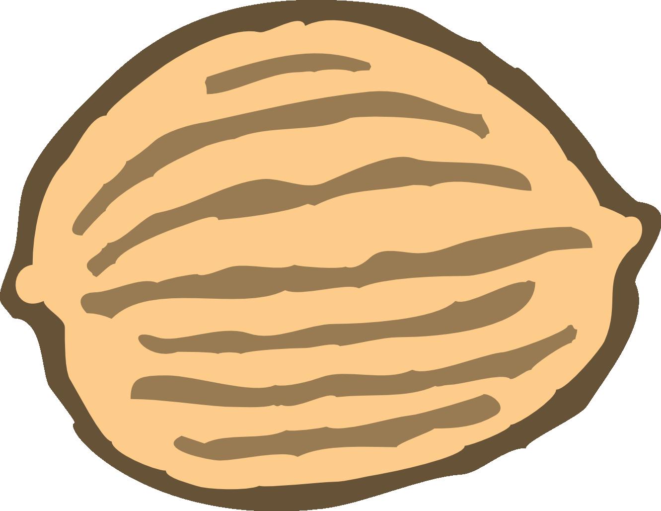 Nut Clip Art - Walnut Clipart