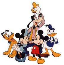 Walt Disney Characters .