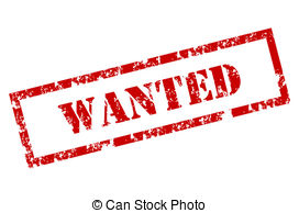 Wanted Clipart Vector