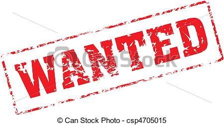 Wanted - Grungy Ink Stamp, Vector Format-wanted - Grungy ink stamp, vector format very easy to edit-7