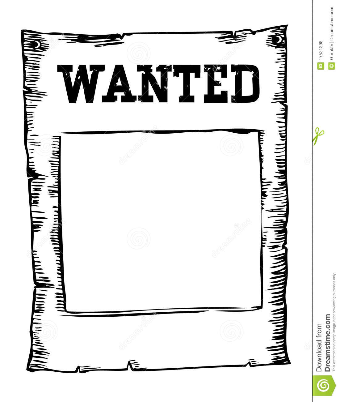 Wanted Poster Clip Art u2013 Clipart Free Download