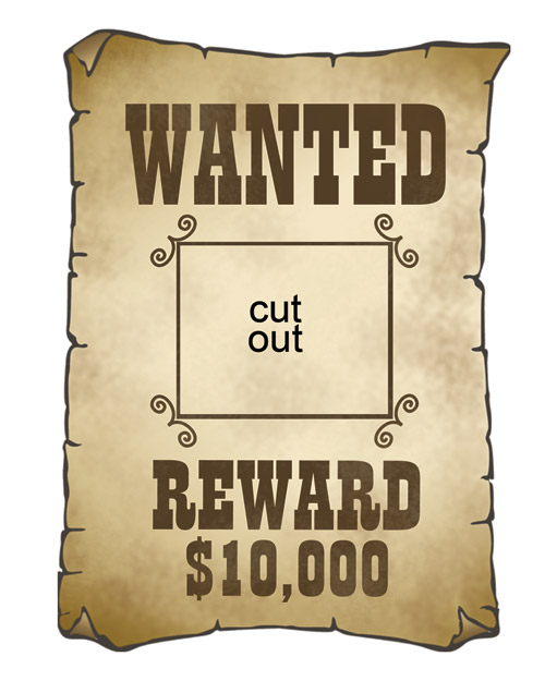 Wanted poster clip art - ClipartFest