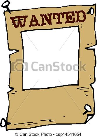 Wanted Poster Clip Art-Wanted Poster Clip Art-11