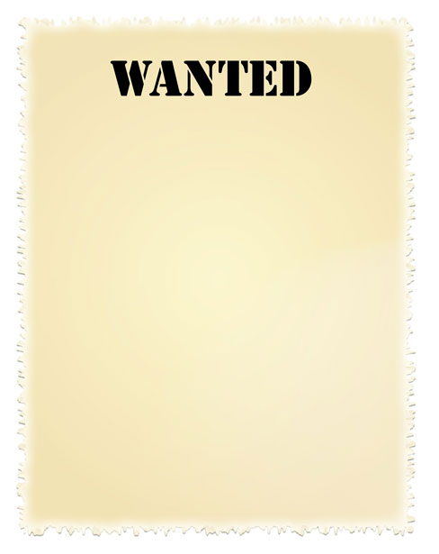 Wanted Poster Clipart - Clipart Kid