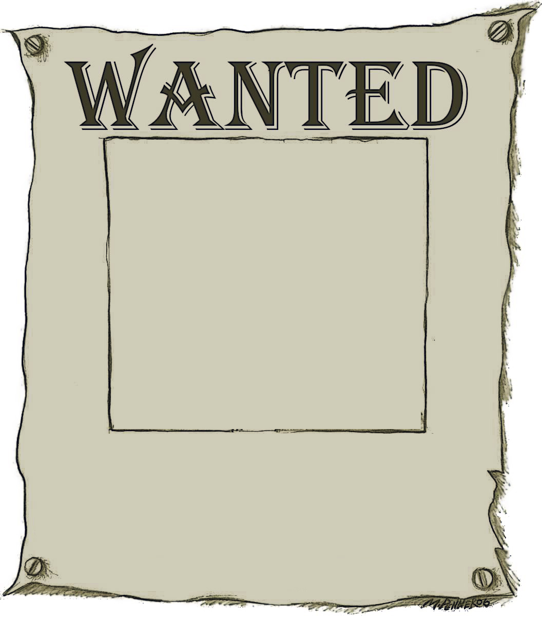 Wanted Poster Clipart · «-Wanted Poster Clipart · «-14