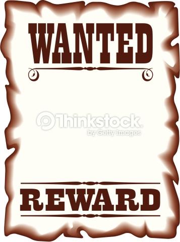 Wanted reward clipart - ClipartFest