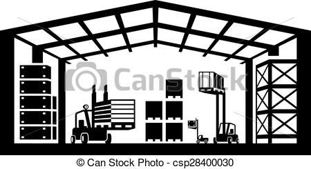 Industrial Warehouse Scene - Csp28400030-Industrial warehouse scene - csp28400030-4